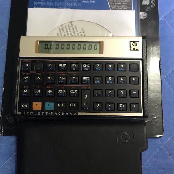calculadora financeira hp12c 0