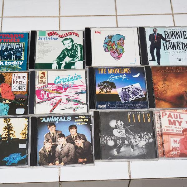 15 cds rock, pop e reggae - anos 50 e 60 0