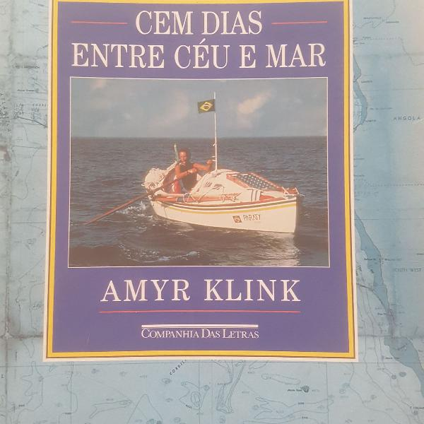 cem dias entre ceu e mar, Amyr Klink 0