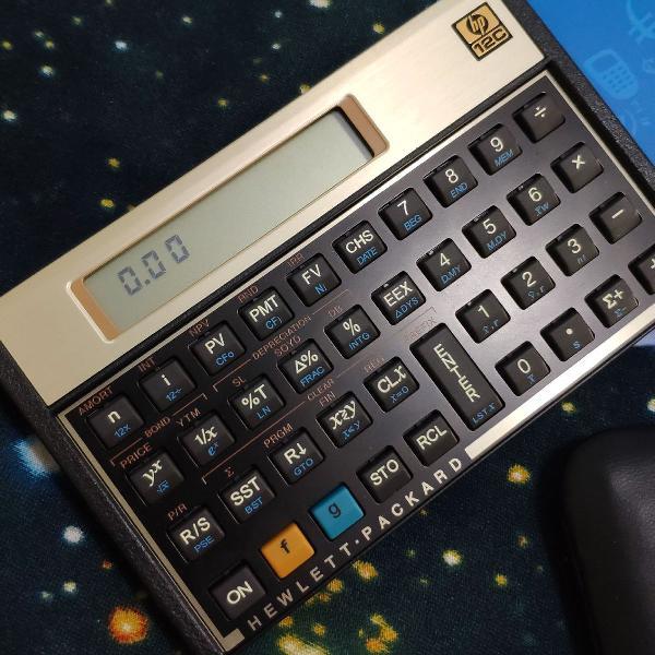Calculadora financeira HP 12C Gold 0