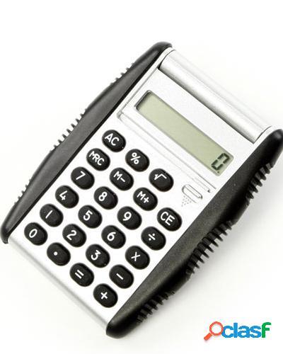 calculadora com detalhes em borracha 0