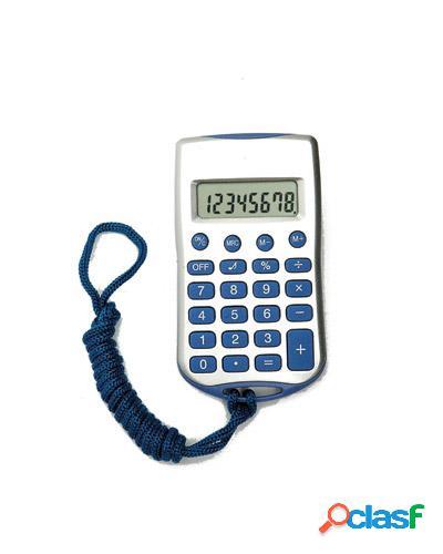 calculadora 8 digitos com cordão 0