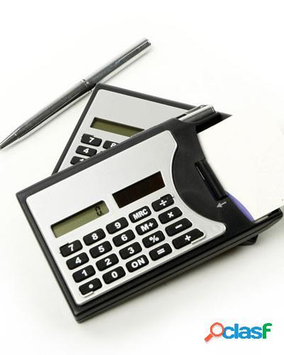 calculadora personalizada com caneta 0