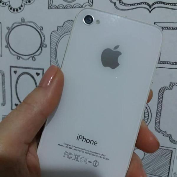 iphone 4s branco 8gb 0
