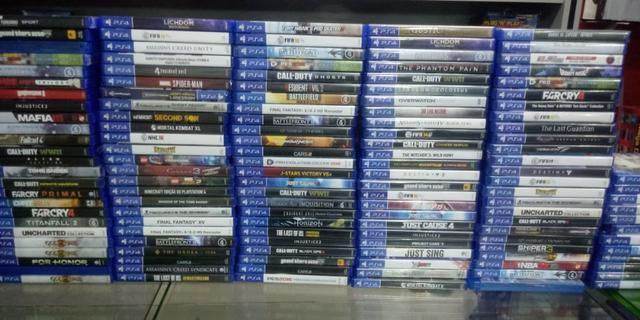 Jogos PS4, Xbox One, Xbox 360 e PS 3, a partir de R$30,00. 0