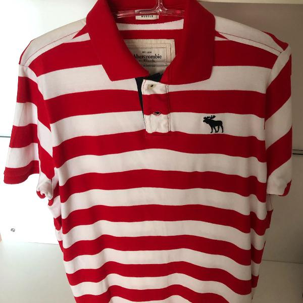 camisa polo abercrombie & fitch 0