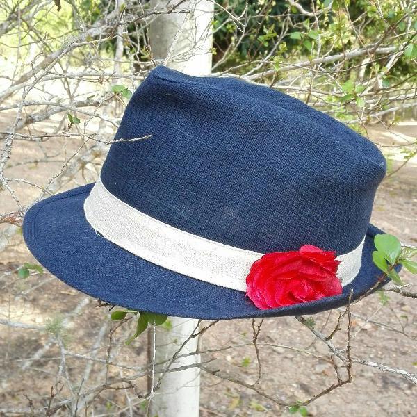 chapéu em linho importado 0