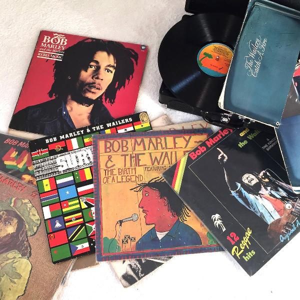 3 lp's Bob Marley 0