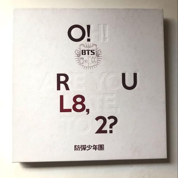 o!rul8,2? oh are you late too? album bts 0