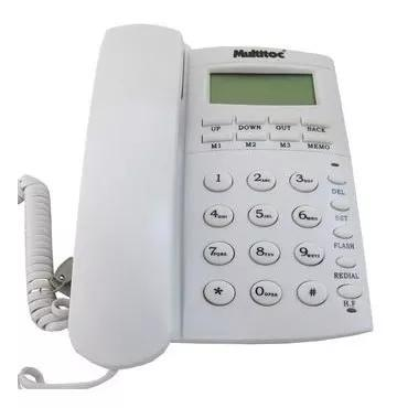 Telefone C/ Fio Office Id E Viva Voz Multitoc 0