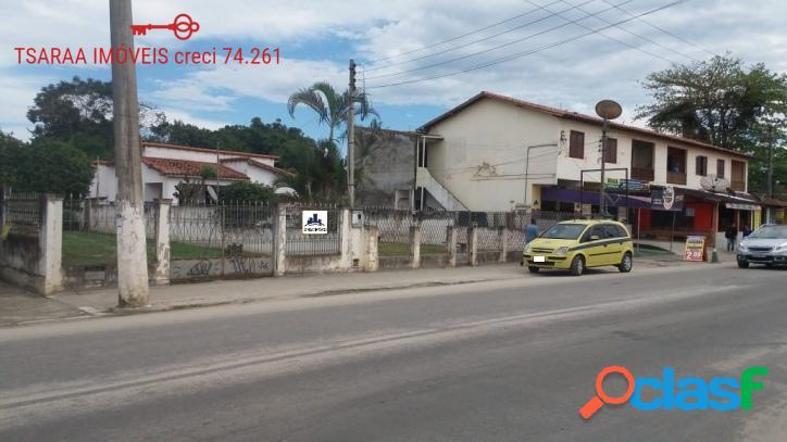 Dois amplos terrenos com Casas, Centro, Araruama. 1