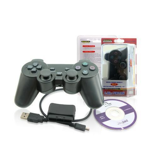 Controle Sem Fio 4 em 1 PlayStation 1/2/3 E PC (NOVO) 0