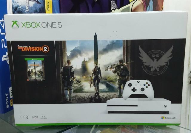 Xbox one S 1TB (Novo Lacrado) + garantia 0