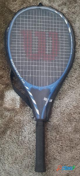 Vendo/Troco Raquete de tênis Wilson, modelo Energy XL, com capa 1