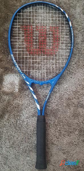 Vendo/Troco Raquete de tênis Wilson, modelo Energy XL, com capa 2