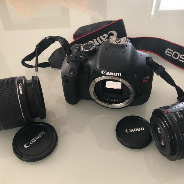 máquina fotográfica canon t3i 0