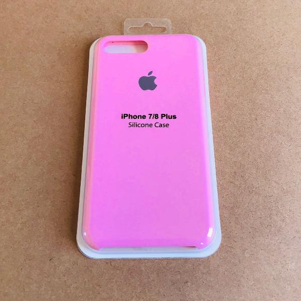 capinha silicone apple - iphone 7/8 plus 0