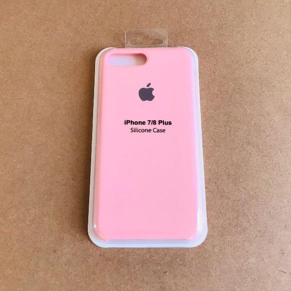 capinha silicone apple - iphone 7/8 plus 0