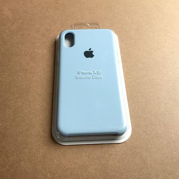 capinha silicone apple - iphone xs 0