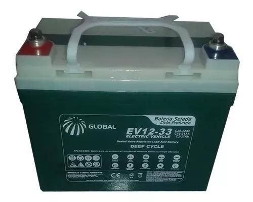 Kit 2 Bateria 35ah Cadeira De Rodas Zenith Motorizada Wm4014 0