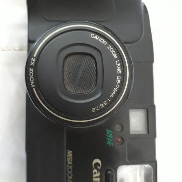 câmera fotográfica canon sure shot mega zoom 76 0