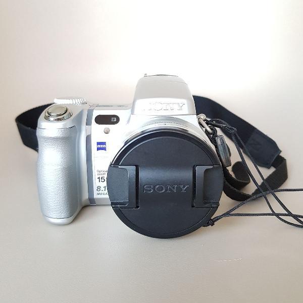 Camera Digital Profissional Sony Cyber Shot Dsc-h9 8.1 Mp 0