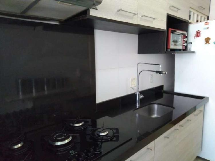 Apartamento, 2 Dorms, 52m², com Sacada, 1 Vaga, Campo 0