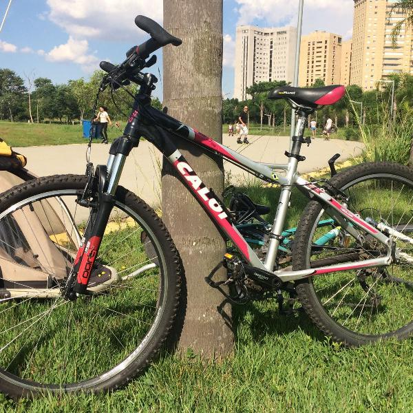mountain bike caloi elite 27 marchas 0