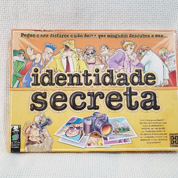 Jogo Identidade Secreta 0