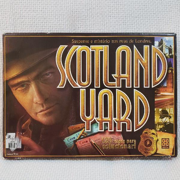 jogo Scotland Yard 120 casos 0
