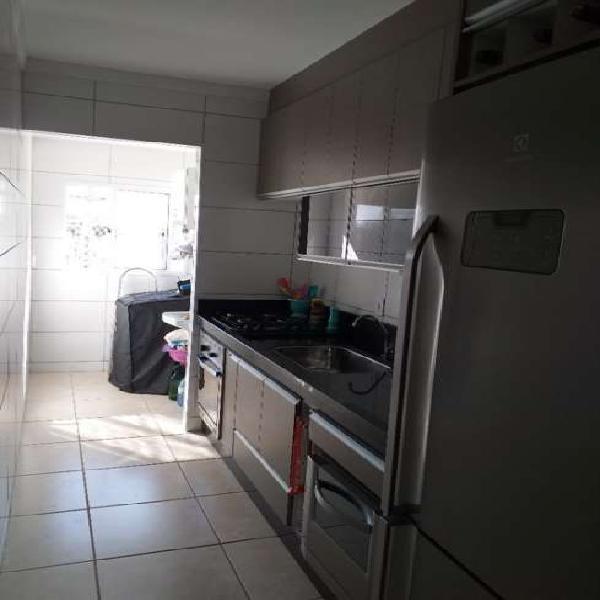 Apartamento para venda possui 57 metros quadrados com 2 0