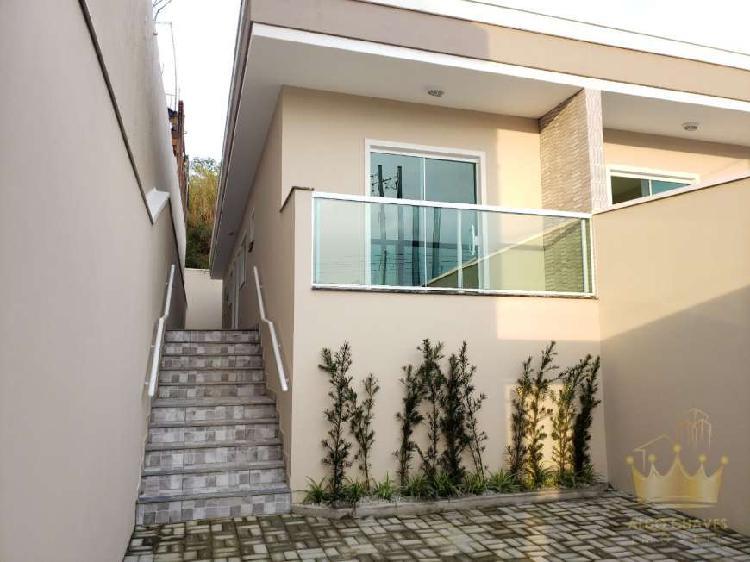 Casa Linda Térrea Nova 2 Dormitórios 1 Suíte 2 Vagas de 0