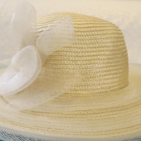 chapéu praia palha flor 0