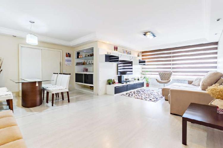 Apartamento para venda com 158 metros quadrados com 4 0