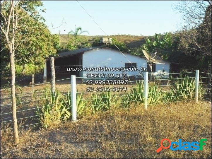 Fazenda em LUZIÂNIA -GO ! 156 Hectares ! ! ! 2 Casas GRANDES 3