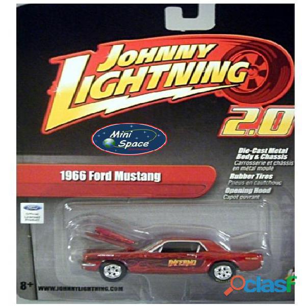 Johnny Lightning 1966 Ford Mustang Inferno 1/64 1