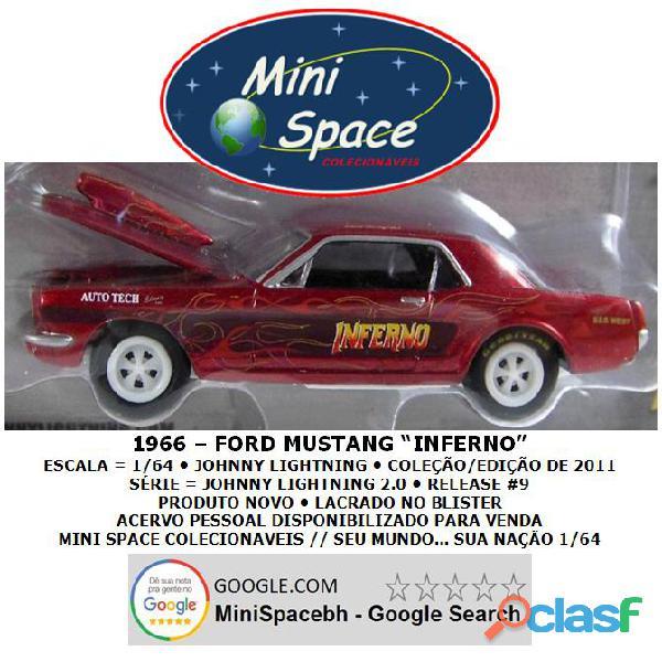 Johnny Lightning 1966 Ford Mustang Inferno 1/64 2