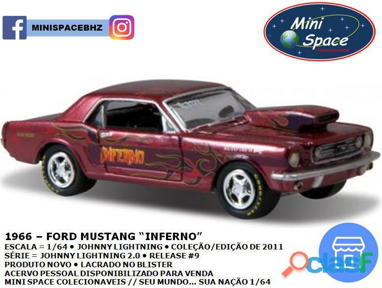 Johnny Lightning 1966 Ford Mustang Inferno 1/64 3
