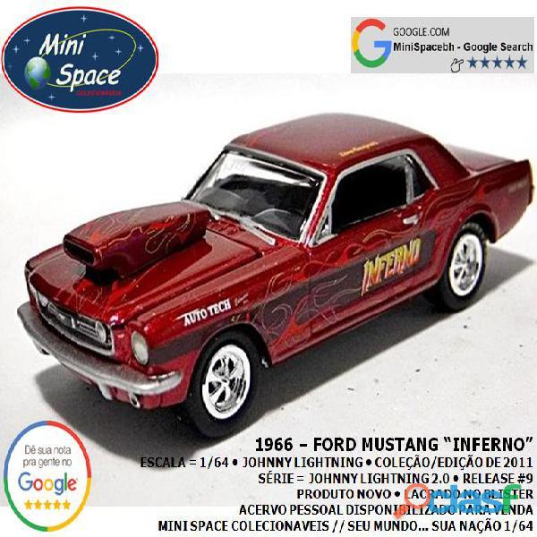 Johnny Lightning 1966 Ford Mustang Inferno 1/64 4