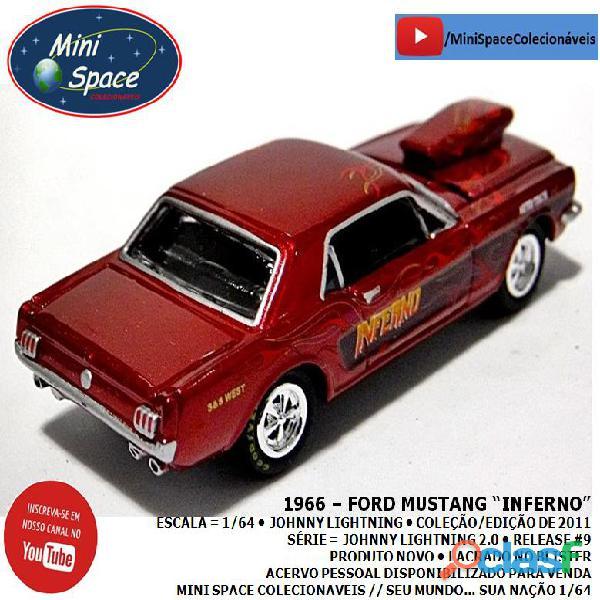 Johnny Lightning 1966 Ford Mustang Inferno 1/64 5