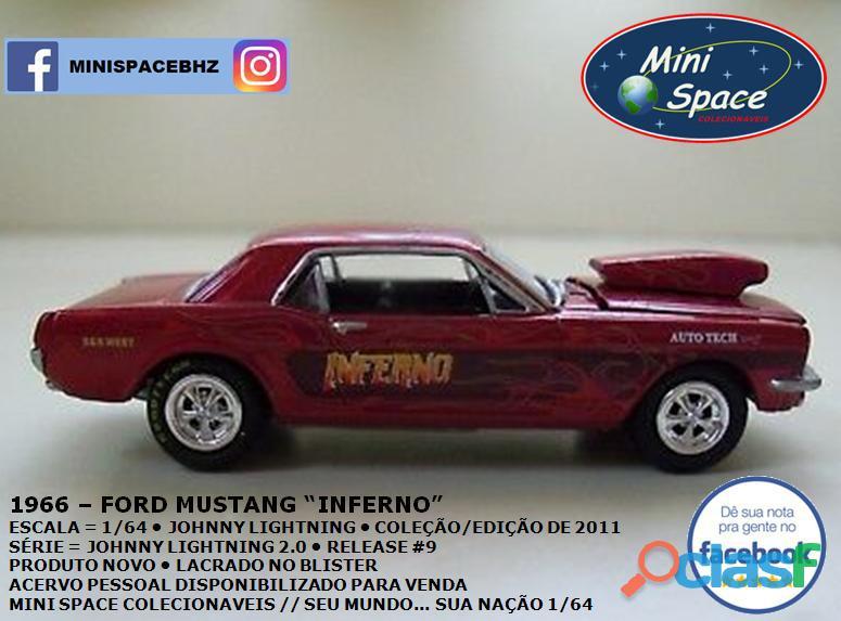 Johnny Lightning 1966 Ford Mustang Inferno 1/64 6