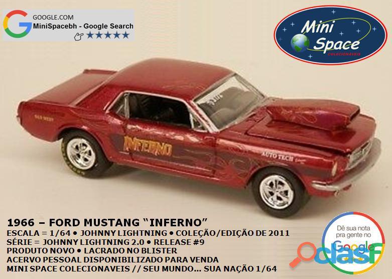 Johnny Lightning 1966 Ford Mustang Inferno 1/64 7