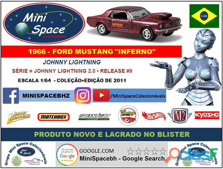 Johnny Lightning 1966 Ford Mustang Inferno 1/64 8