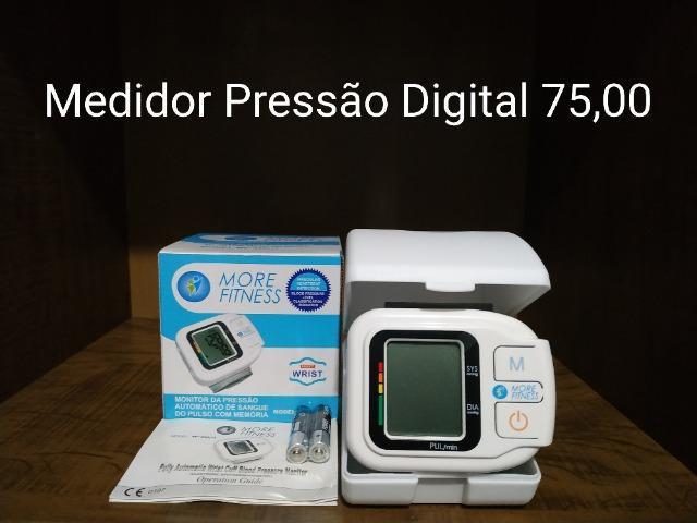 Aparelho Medidor de Pressão 75,00 - Oxímetro 70,00 - NOVO 0