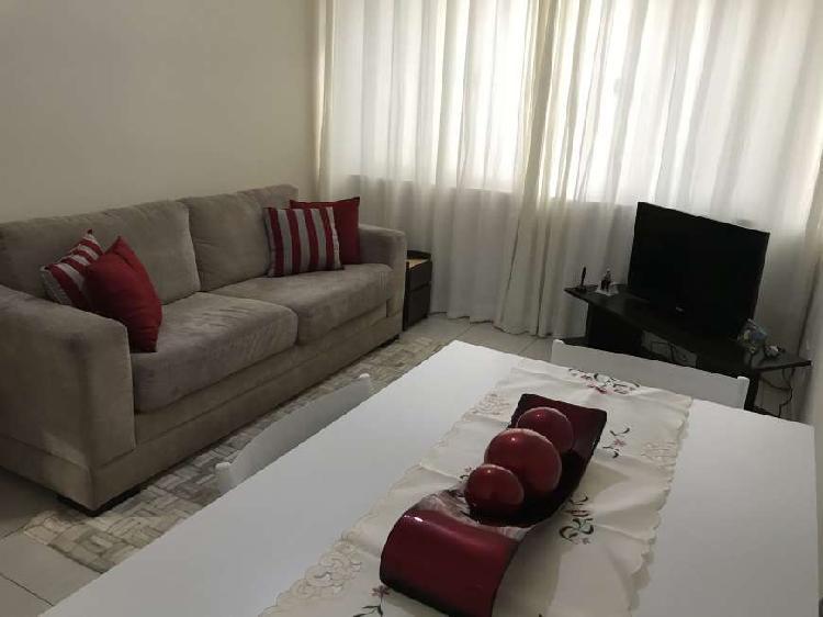 Apartamento para venda possui 61 metros quadrados com 2 0