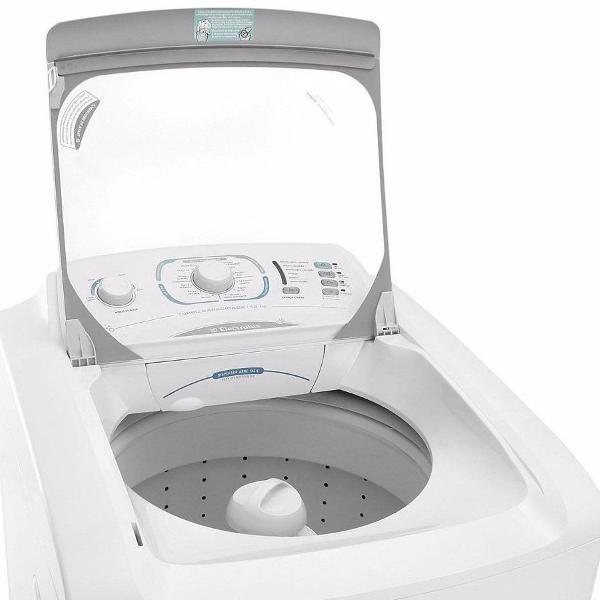tampa completa para máquina de lavar 15kg electrolux lbu15 0