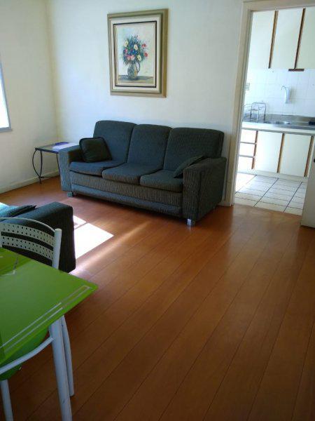 Mobiliado apartamento de 3 dormitórios e vaga rotativa 0