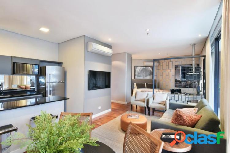 Apartamento com 1 dorms em São Paulo - Vila Olímpia por 11.3 mil para alugar 0