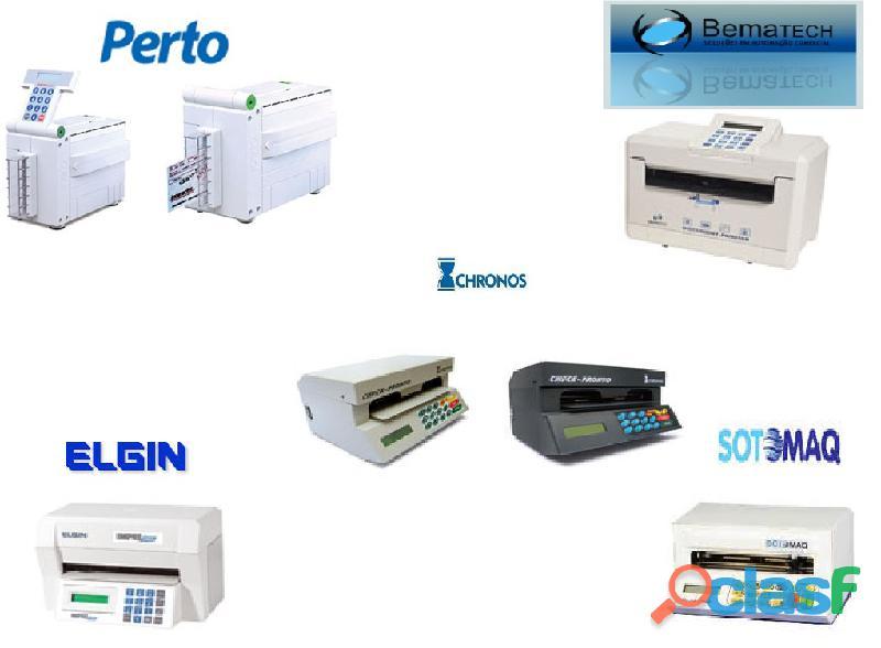 Assistência técnica e venda de impressoras de cheque em Santos / SP