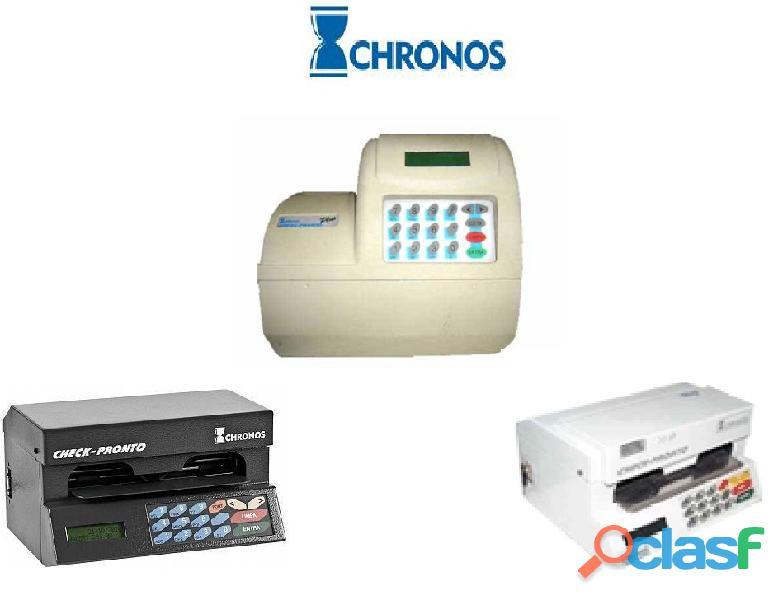 Impressoras de cheque Chronos Check Pronto (Assistência técnica Autorizada e Revenda) em Campinas